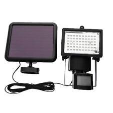60 LED PIR Motion Sensor Solar Powered Garden Stair Lamp Floodlight Spot Light