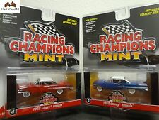 Racing Champions Mint 1960 Chevy Impala Set of 2 - 2016 Release A&B