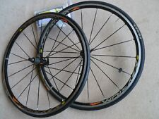 MAVIC KSYRIUM ELITE 700C WHEELSET SUPERB CONDITION BLACK