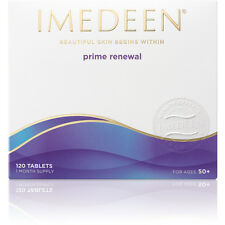 IMEDEEN Prime Renewal cuidado de la piel x 6 50+ años, 720 Tabletas, 6 meses de suministro 08/2019