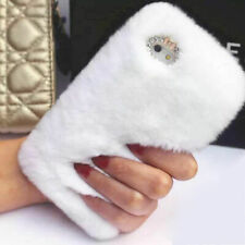Stylish Warm Soft Faux Furry Fur Diamond Phone Case Cover For iPhone 11 Pro MAX