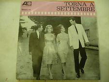 """BOBBY DARIN""""TORNA A SETTEMBRE-disco 45 giri ATLANTIC It1964 O.S.T.G.LOLLOBRIGIDA"""