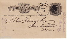 1876 US Postcard VG Condition
