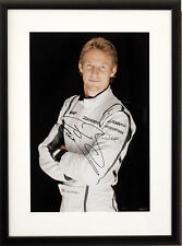 Jenson Button BRAWN GP Foto autografata/incorniciata * RARO *