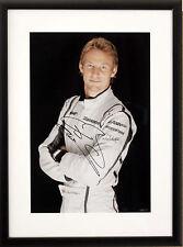 Jenson Button Brawn GP signed / framed photo *RARE*