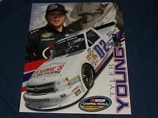 2013 TYLER YOUNG #02 YOUNG'S BUILDING SYSTEMS NASCAR POSTCARD