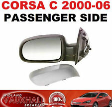 CORSA C 00-06 PASSENGER SIDE ELECTRIC PRIMED WING DOOR MIRROR LEFT HAND NEARSIDE