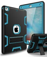 Three Layer Shockproof Military Heavy Duty Case Cover for New 2017 iPad 9.7 Inch