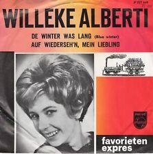 7inch WILLEKE ALBERTIde winter was langHOLLAND FAVORIETEN EXPRES EX  (S2424)