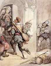 Metal Sign Rowlandson Thomas Travelling Players A4 12x8 Aluminium