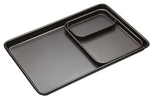 Non Stick Baking Tray With PFOA Free Easy Clean Kitchen Cooking Bake Supplies UK