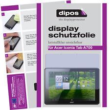 Dipos Crystalclear Displayschutzfolie für Acer Iconia Tab A700 Displayfolie