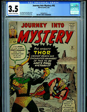Thor Journey Into Mystery #92 CGC 3.5 Marvel 1963 Amricons S3