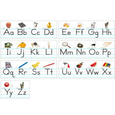 North Star Teacher Resource - Alphabet Lines Traditional Manuscript - 7 Pack
