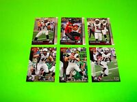 6 OTTAWA REDBLACKS UPPER DECK CFL FOOTBALL CARDS 25 54 55 56 61 72 #-1