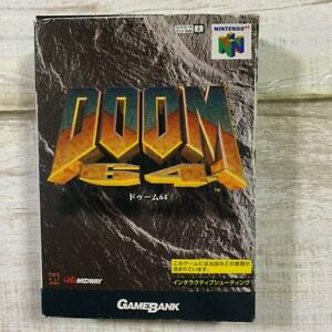 Doom 64 N64 GameBank Nintendo 64 with Boxed from Japan