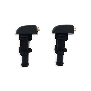 2PCS Windshield Wiper Washer Fluid Nozzle For Ford Crown Victoria Expedition US