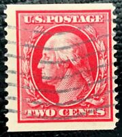 1910 US Stamp SC #388 2c George Washington Used Coil  CV:$2250