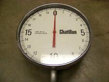 Chatillon 20000 x 100 lbs Hanging Scale model WT-10,  20,000lb