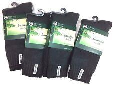 3prs OR 6 Pairs Mens Bamboo Heavy Duty Work Socks Size 6-11 Grey yarn 75%25 New