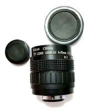 (Ships From China !) Fujian 35mm F1.7 CCTV lens C Mount EZ Adapt  DSLR or M 4/3