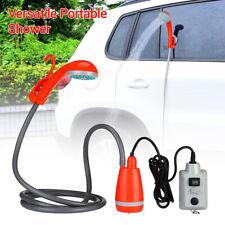 Indoor Handheld Showers with Water Pump 12V Adapter for Travel Pet Garden Hiking