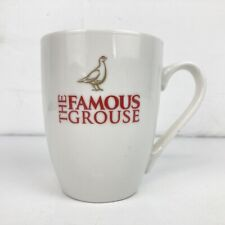 The Famous Grouse Scotch Whisky White Ceramic Collectable Coffee Hot Toddy Mug