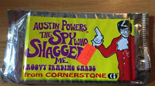 Austin Powers The Spy Who Shagged Me Groovy Trading Cards Factory Sealed (B160)