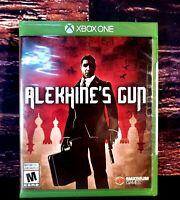 Alekhine's Gun - XBOX ONE - Microsoft - XBO - Brand NEW - Sealed