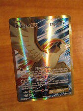NM FULL ART Pokemon PIDGEOT EX Card EVOLUTIONS Set 104/108 XY X and Y Ultra Rare