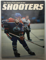 """The Hockey News Book of NHL Shooters"" NHL Hockey Gretzky Bossy Lafleur Trottier"