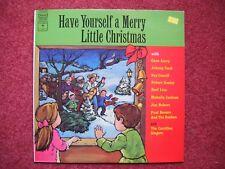 Merry Little Christmas Record Album LP - Paul Revere & Raiders Cash Autry Ives