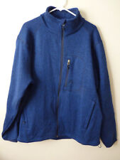 Avalanche Men's Dark Blue Sweater Jacket Zipper Front Size XXL Outdoor Rn 83520