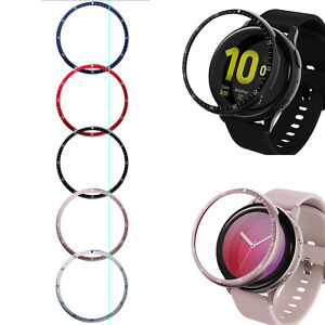 Anti Scratch Metal Bezel Protection Ring Cover for Samsung Galaxy Active 2 Watch