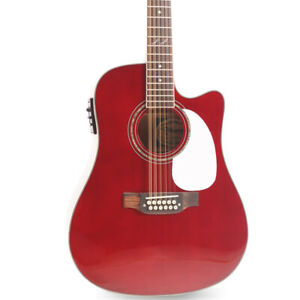 Takamine Electric Acoustic Guitar 12 Strings Fishman EQ 101 Solid Spruce Top