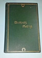 ANTIQUE,  BURNS'S POEMS, THOMAS CROWELL,  (COMPLETE WORKS) ILLUSTRATED