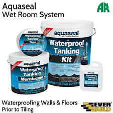 Everbuild EVBAQSKIT75 Aquaseal Wet Room System Kit 7.5sq Metre