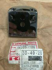 Genuine NOS Kawasaki VN750 ZG1200 Voyager VN1500 Cover, License Lamp 14025-1728