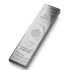 100 oz Silver Bar by Scottsdale Mint - Long Cast .999 Fine Silver Bullion #A515