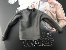 Hot Toys MMS346 Star Wars Force despierta Finn gris de manga larga superior Shirt 1:6