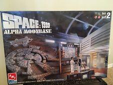 AMT/ERTL Space: 1999 Alpha Moonbase  Model Kit No. 30067-10D (New)