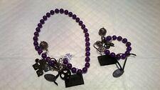 Exoal jewelry turquoise necklace & bracelet set