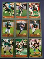 1999 Topps Collection MIAMI DOLPHINS Complete Team Set 18 Cards NM-MINT+ Look !