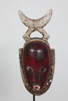 BK8 Baule Maske alt Afrika / Masque baoule ancien / Tribal baule mask