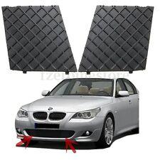 2pc Front Bumper Lower Mesh Grill Grille Trim Left Right For BMW E60 E61 M Sport