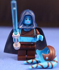 LEGO® STAR WARS™ 75182 Aayla Secura™ DELUXE Minifigure + HOOD & CAPE 100% LEGO