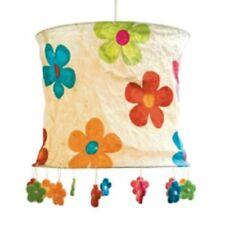 LOKTA Papierlampe / Hängeleuchte - Blumen natur ... NEU/OVP