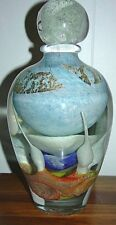 JEAN CLAUDE NOVARO~LARGE GLASS SCULPTURE[GLOW IN THE DARK][ONE OF A KIND]SOUGHT