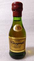 Old Vintage Mini Bottle ✱ BISQUIT V.S.O.P. ✱ Petit Bouteille Champagne Cognac