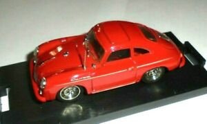 car 1/43 BRUMM R208 PORSCHE 356 CARRERA 1952 RED NEW BOX